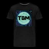 T-Shirts ~ Men's Premium T-Shirt ~ Tealgamemaster Logo (Men's Shirt)