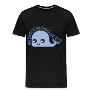T-Shirts ~ Men's Premium T-Shirt ~ Whale T-shirt (Men's shirt)