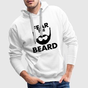 Fear The Beard Hoodies & Sweatshirts - Men's Premium Hoodie