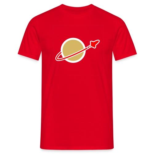 Spaceman rot - Männer T-Shirt