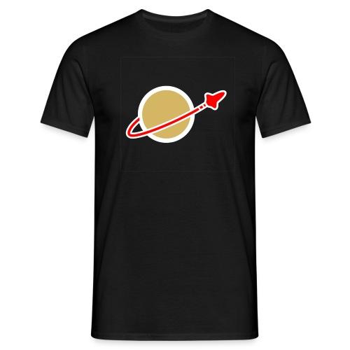 Spaceman schwarz - Männer T-Shirt