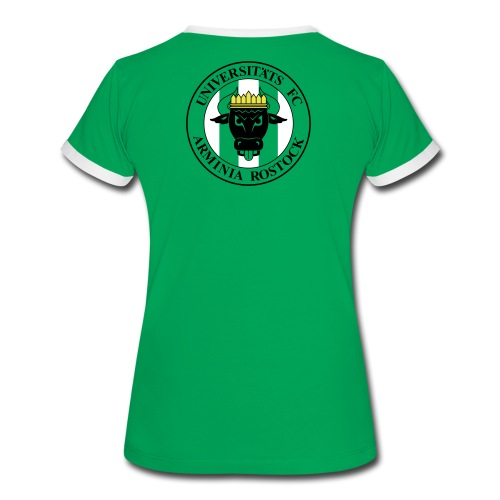 UFC T-Shirt Frauen - Logo Rücken - Frauen Kontrast-T-Shirt