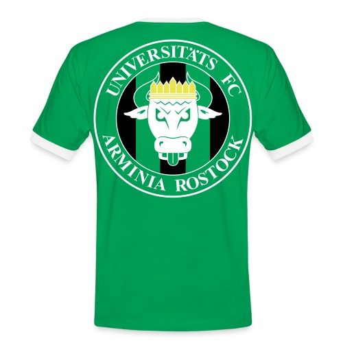 UFC T-Shirt Herren - Logo Rücken - Männer Kontrast-T-Shirt