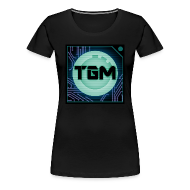 T-Shirts ~ Women's Premium T-Shirt ~ Tealgamemaster Logo (Women's Shirt)