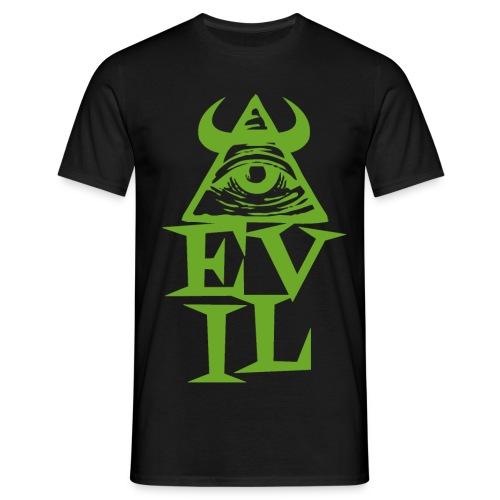 Illuminati - EVIL - Men's T-Shirt