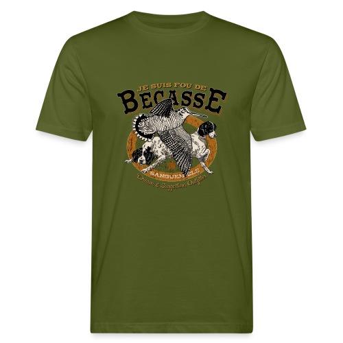 Tee-shirt Homme chasse à la bécasse - T-shirt bio Homme