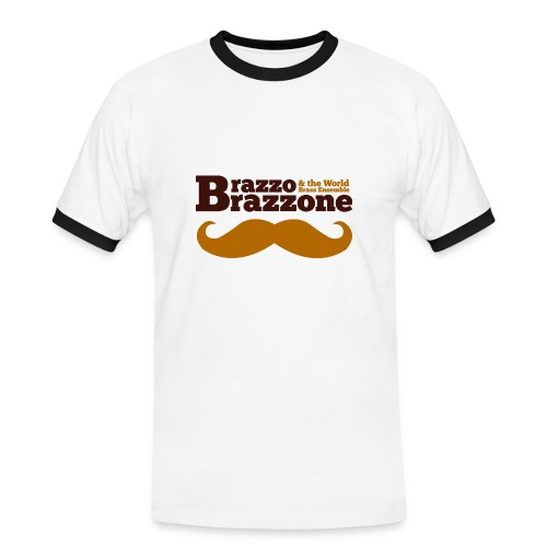 Brazzo Sportivo Shirt - Männer Kontrast-T-Shirt