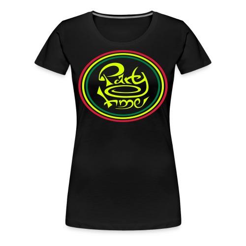 Tshirt Col Rond Women Ring Yellow - T-shirt Premium Femme