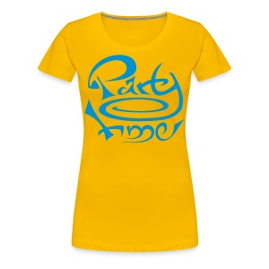 Tshirt Col Rond Women Original One Blue - T-shirt Premium Femme