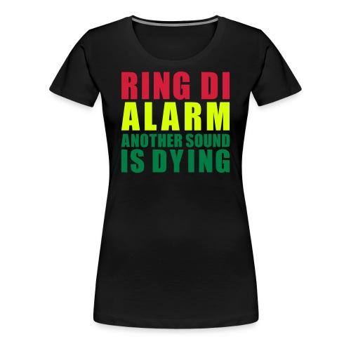 Tshirt Col Rond Women Ring Di Alarm - T-shirt Premium Femme