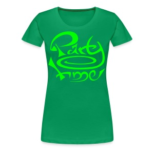 Tshirt Col Rond Women Original One Green - T-shirt Premium Femme
