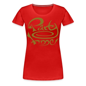 Tshirt Col Rond Women Original One Or - T-shirt Premium Femme