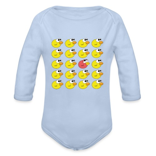 Baby Bio-Langarm-Body