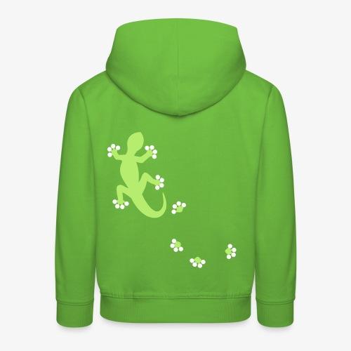 Gecko (kids) - Kinder Premium Hoodie