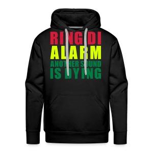 Sweat Capuche Men Ring Di Alarm - Sweat-shirt à capuche Premium pour hommes