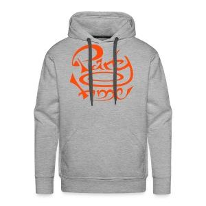 Sweat Capuche Men Original One Orange - Sweat-shirt à capuche Premium pour hommes