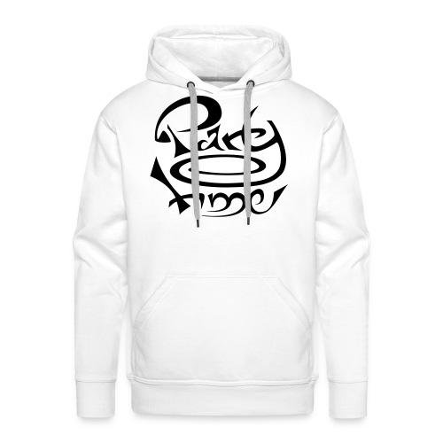 Sweat Capuche Men Original One Black - Sweat-shirt à capuche Premium pour hommes
