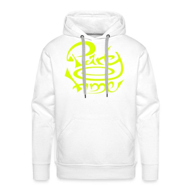 Sweat Capuche Men Original One Yellow - Sweat-shirt à capuche Premium pour hommes