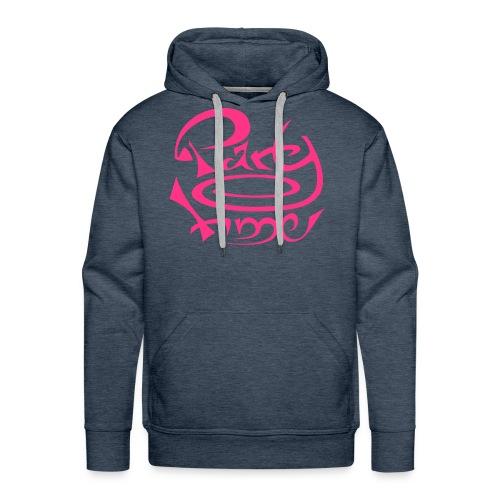 Sweat Capuche Men Original One Pink - Sweat-shirt à capuche Premium pour hommes