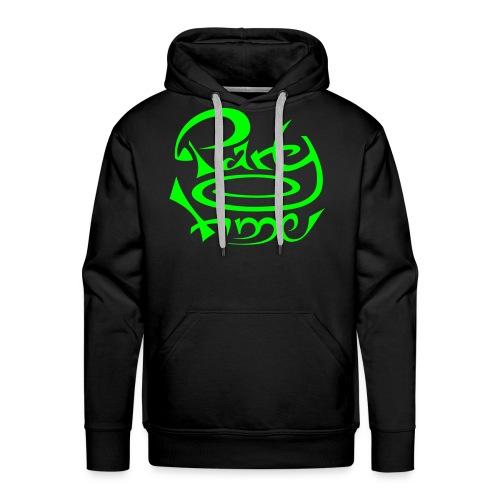 Sweat Capuche Men Original One Green - Sweat-shirt à capuche Premium pour hommes