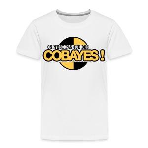 T-shirt Enfant Qualité logo Cobayes - T-shirt Premium Enfant