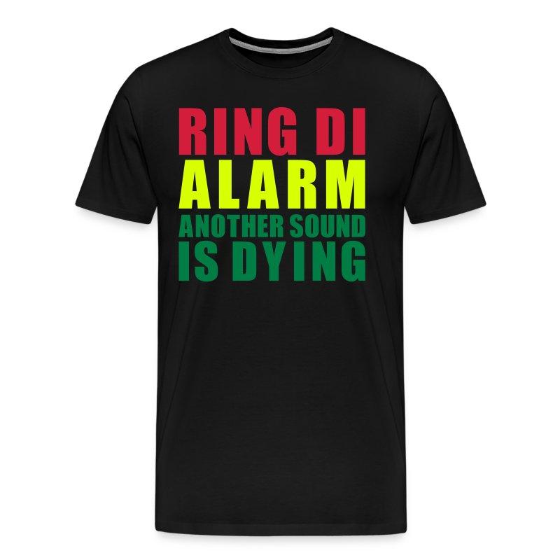 Tshirt MC Men Ring Di Alarm - T-shirt Premium Homme