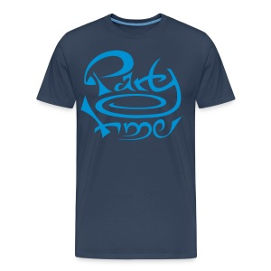 Tshirt MC Men Original One Blue - T-shirt Premium Homme