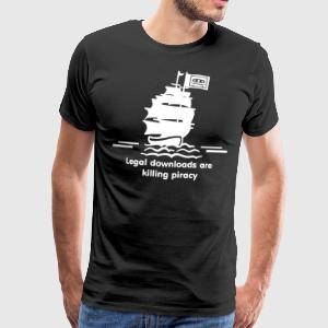 piraten T-Shirts - Men's Premium T-Shirt