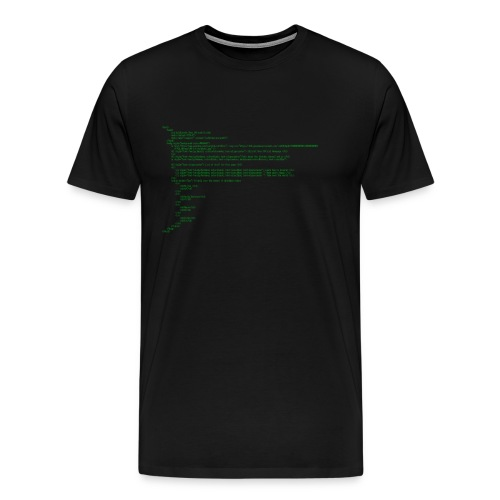 Coding with the LOLcraft Bros - Men's Premium T-Shirt