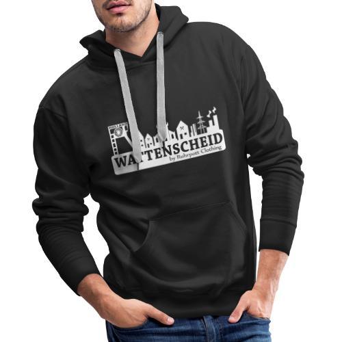 Skyline Wattenscheid mit RPC Logo auf Rücken - Männer Premium Hoodie