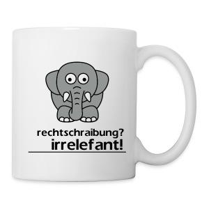 Userwunsch   Tasse   Motiv: Irrelefant (klassisch) - Tasse