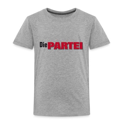 T-Shirt Die PARTEI - Kinder Premium T-Shirt