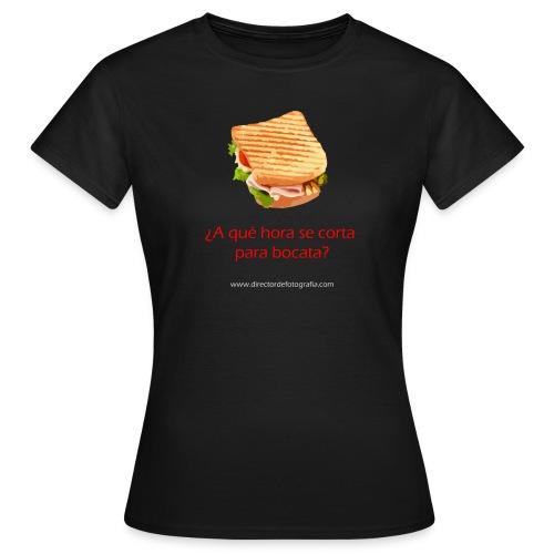 Camiseta mujer - Porque esto de rodar, da hambre