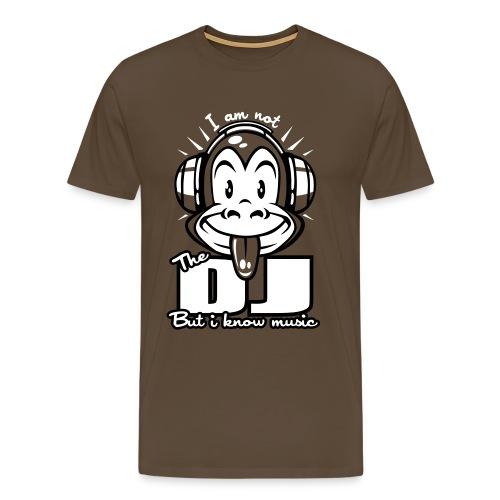T-shirt homme Not a DJ | T-shirts DJ  - T-shirt Premium Homme
