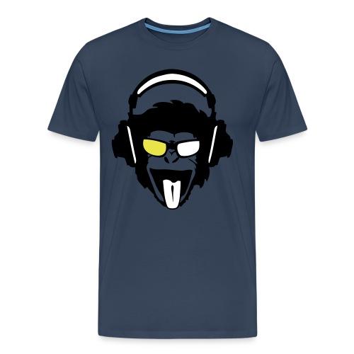 T-shirt homme Monkey Dj  | T-shirts DJ - T-shirt Premium Homme
