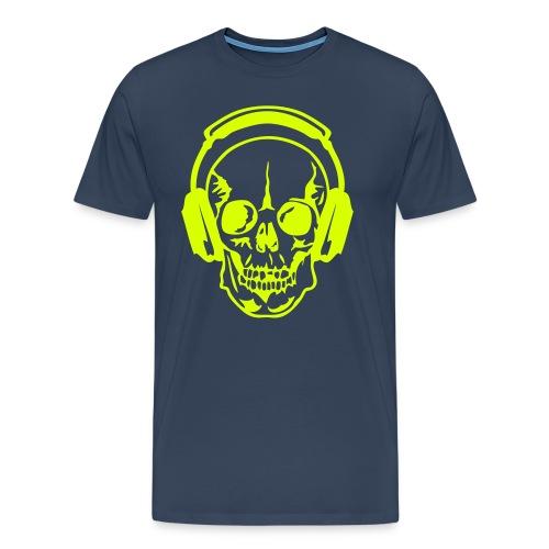 T-shirt homme Skully Dj  | T-shirts DJ - T-shirt Premium Homme