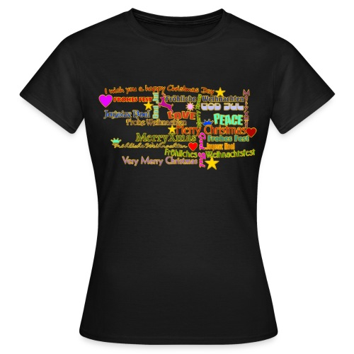 Happy Christmas Day - Frauen T-Shirt