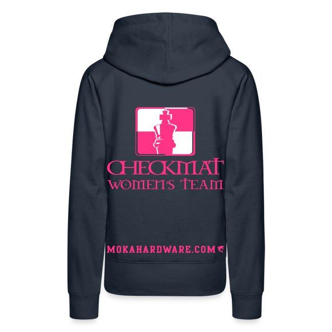 CheckMat Womens Team Hoodie Navi
