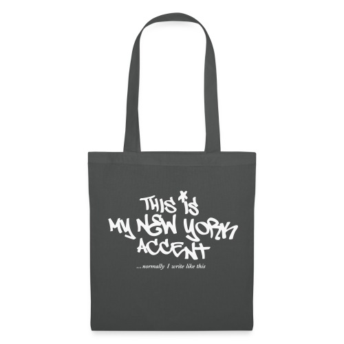 Banksy TAG NY Accent - Tote Bag