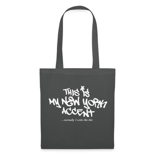 Banksy TAG NY Accent - Tote Bag