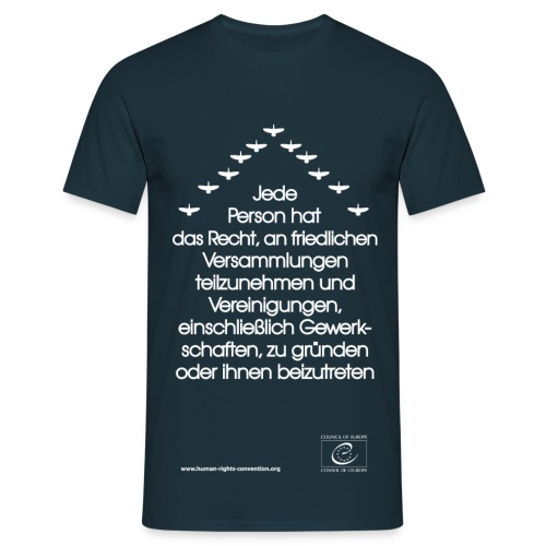 Versammlungs- und Vereinigungsfreiheit - Männer T-Shirt