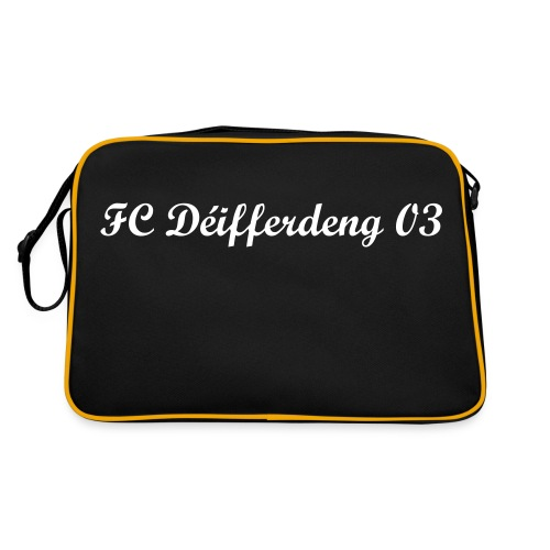 Retro Tasche - Black Collection