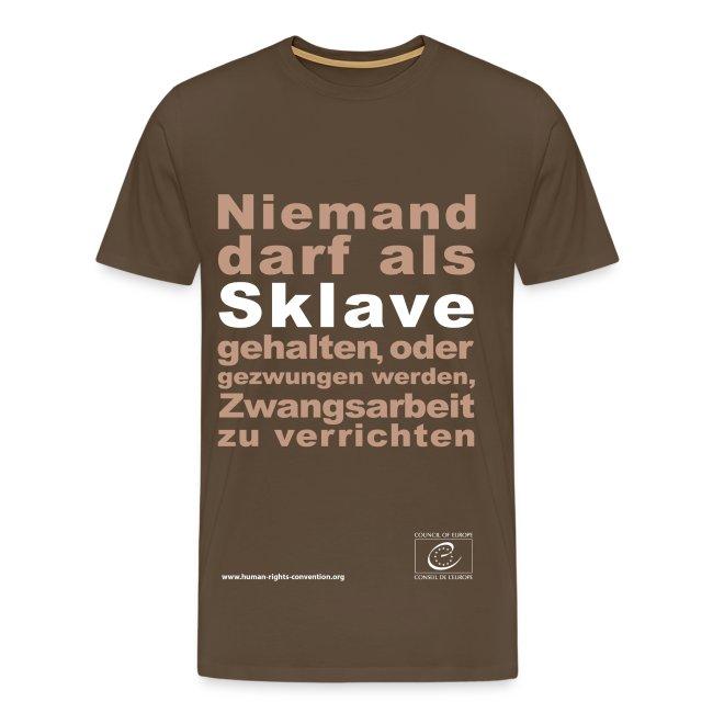 Verbot der Sklaverei und Zwangsarbeit