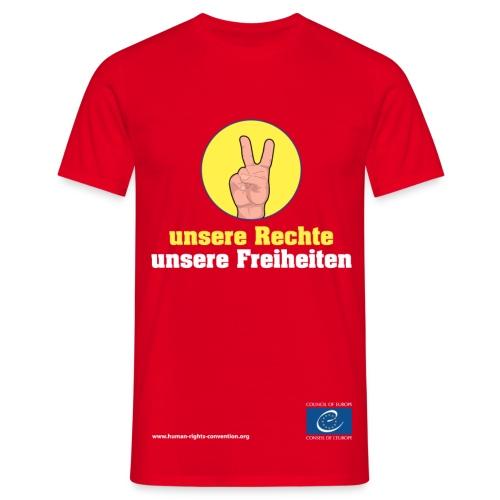 unsere Rechte, unsere Freiheiten - Männer T-Shirt