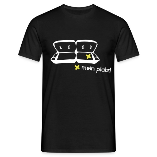 Mein Platz - Herren - Männer T-Shirt