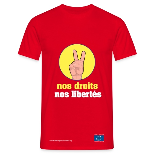 Nos droits, nos libertés - T-shirt Homme