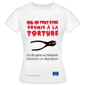 Interdiction de la torture - T-shirt Femme