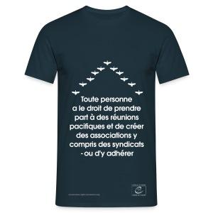 Liberté de réunion - T-shirt Homme