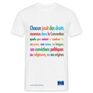 Interdiction de la discrimination - T-shirt Homme