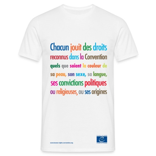 Interdiction de la discrimination - T-shirt Homme